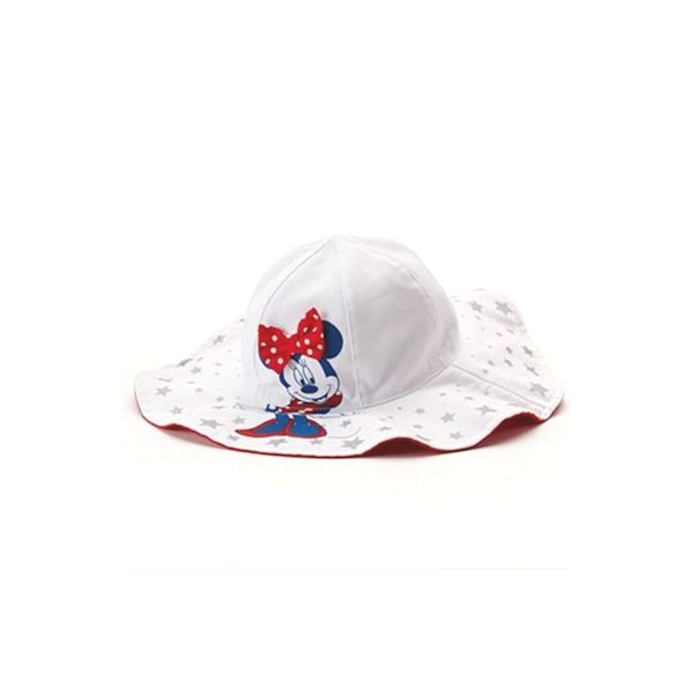 Minnie Mouse White Polka Dot Wide Brim Floppy Sun Hat - Infant ... a0c72cbcffd