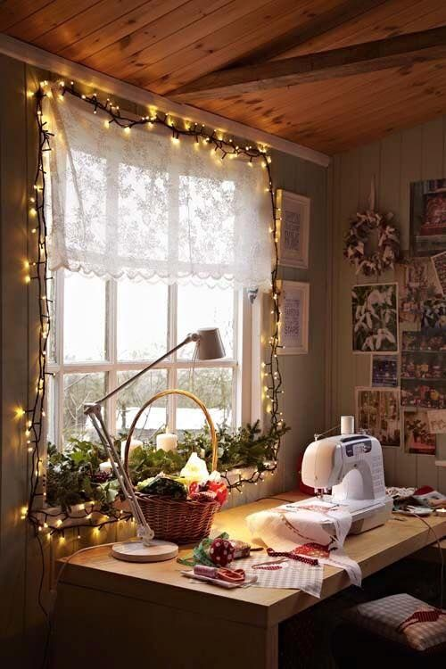 Cozy Sewing Room