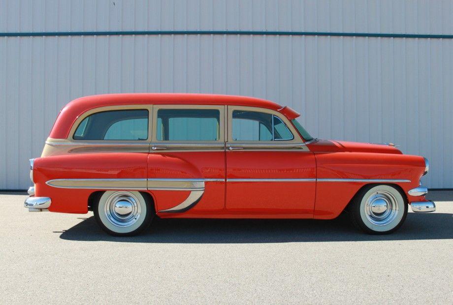 1954 Chevy Woody Wagon 350 V8 Shows Or Cruise Woody Wagon Station Wagon Cars Wagon Cars