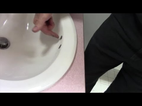 Sink Odors From Overflow Holes Cleaned With Enzyme Cleaner By Zep Youtube Cleaning Sink Drains Clean Bathroom Sink Bathroom Sink Drain