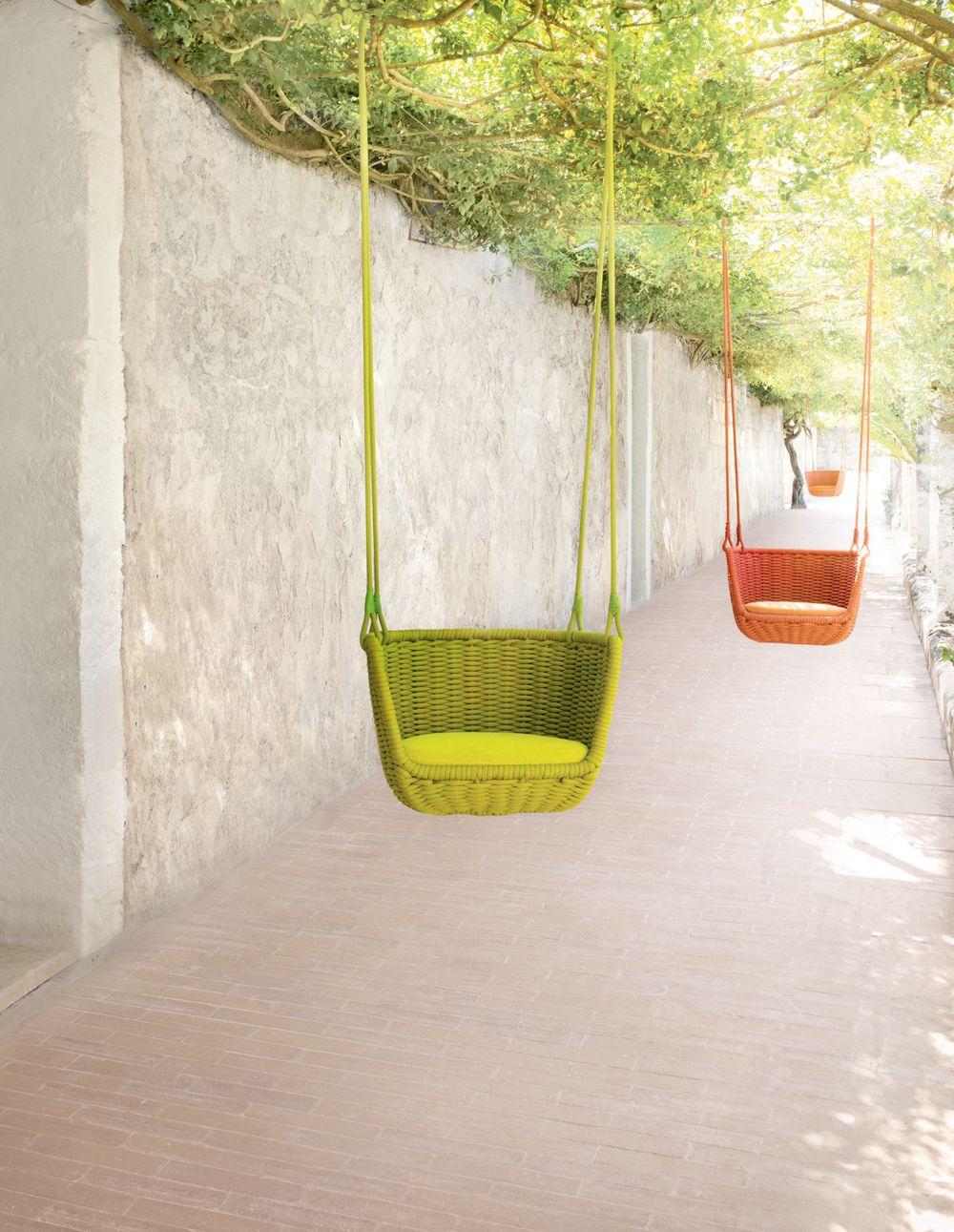 Adagio hanging chairs paola lenti swings pinterest hanging