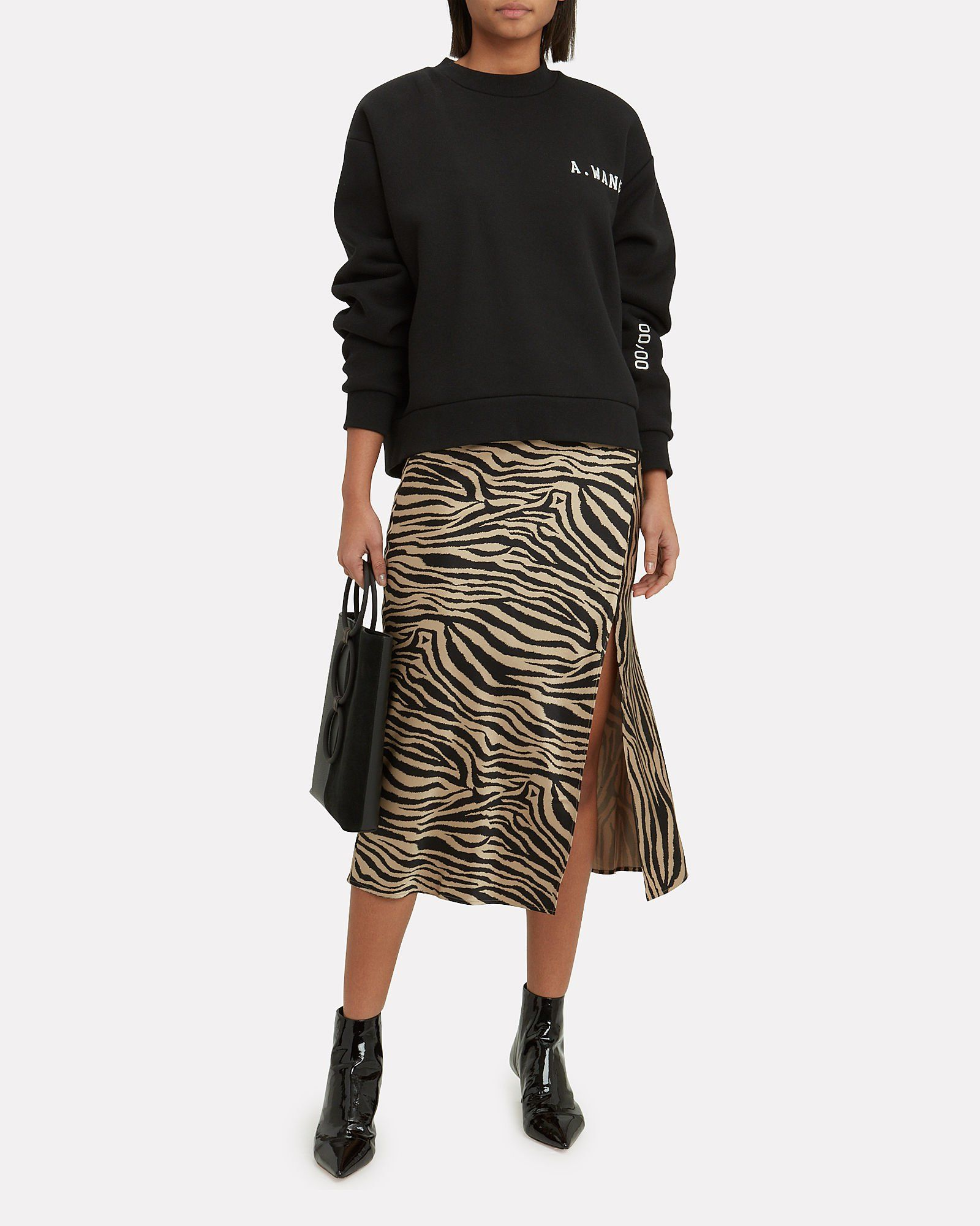 b2ee97442f Zebra Slip Skirt, TAN/BLACK, hi-res   Spring 2019 in 2019   Slip ...