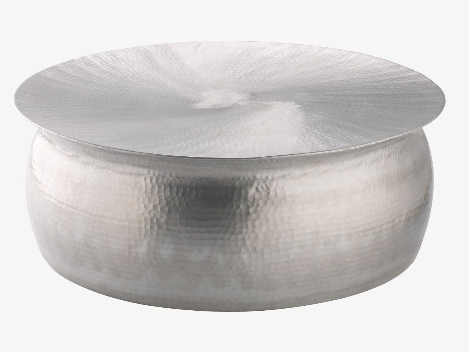 ORRICO Hammered aluminium coffee table
