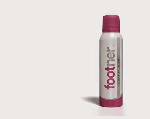 Beleza e etc..: Espuma Hidratante Footner para os Pés