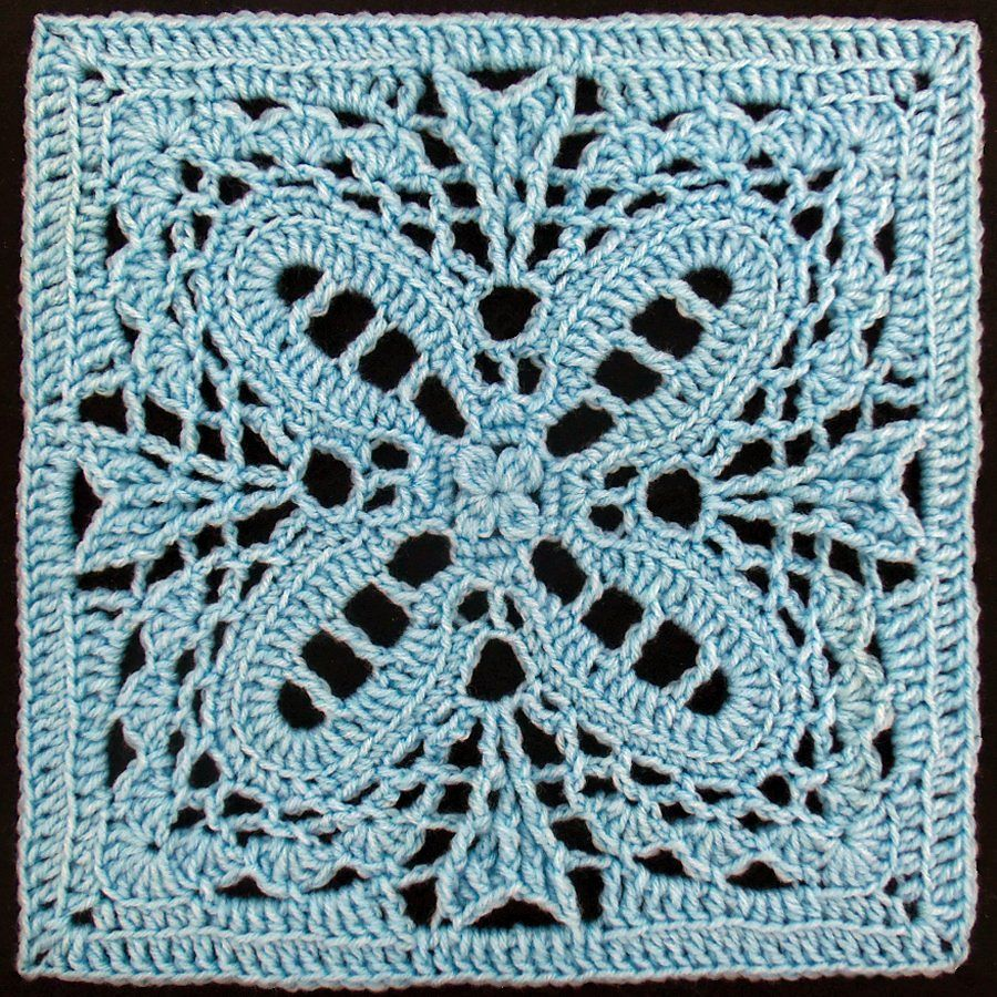 Romantique Afghan Block pattern by Joyce D. Lewis | Pinterest ...