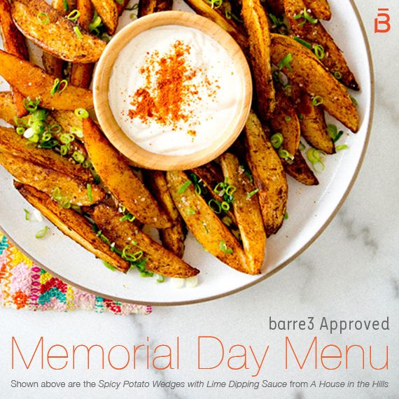 Photo of barre3 Approved Memorial Day Menu – barre3