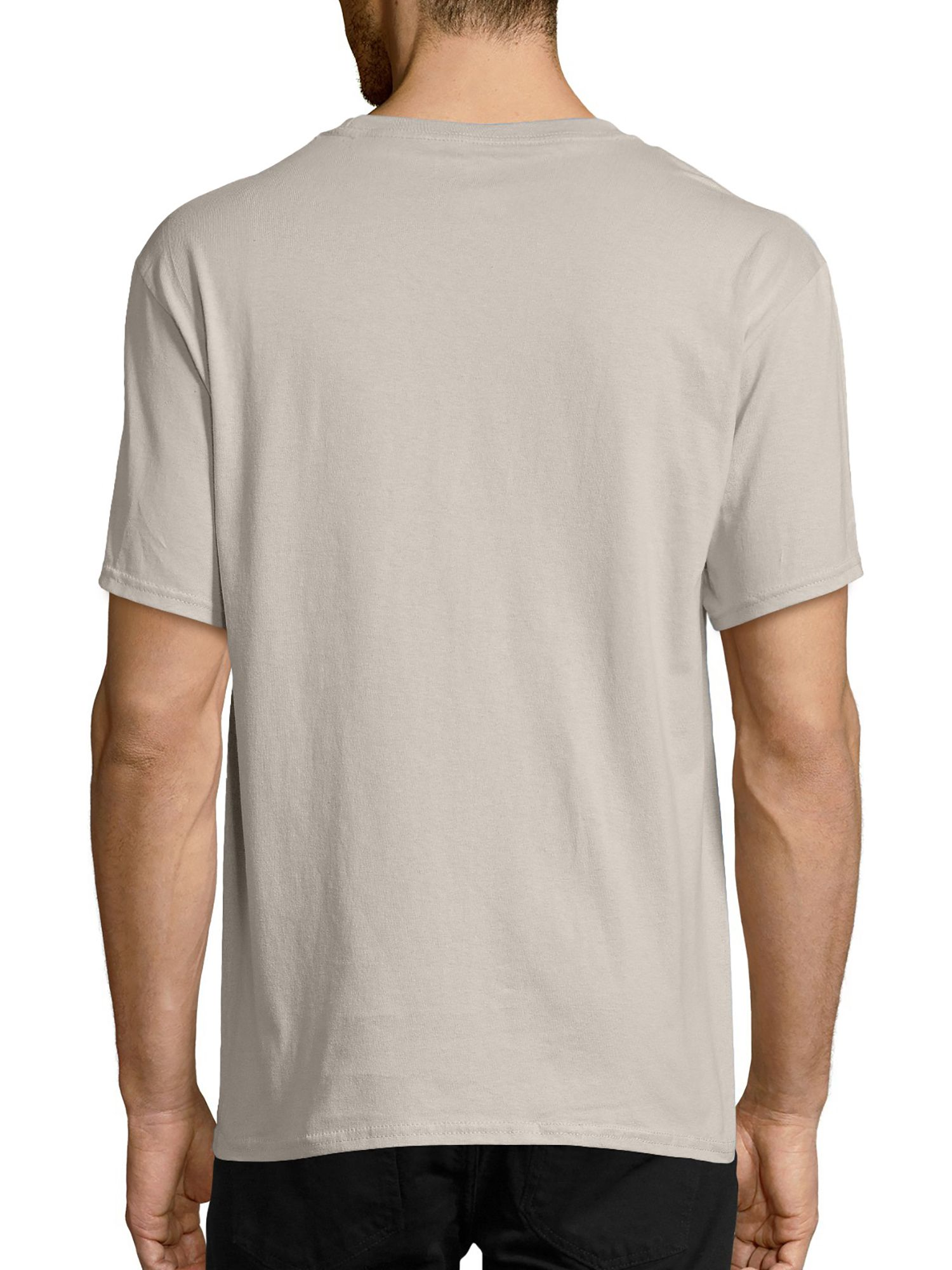 Hanes Men's and Big Men's Tagless Short Sleeve Tee, Up To
