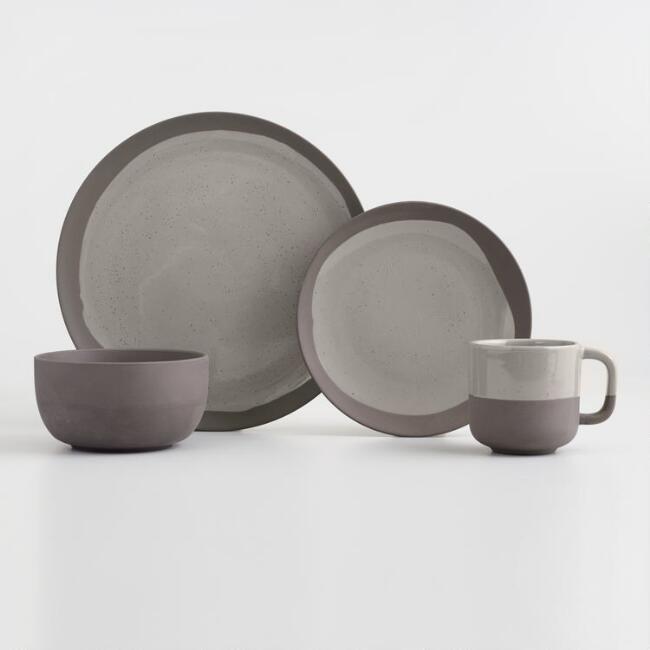 Sage Matte Stoneware Sarai Dinnerware Collection - v1 & Sage Matte Stoneware Sarai Dinnerware Collection - v1   Tableware ...