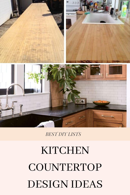 Diy Kitchen Countertop Ideas In 2020 Diy Kitchen Kitchen