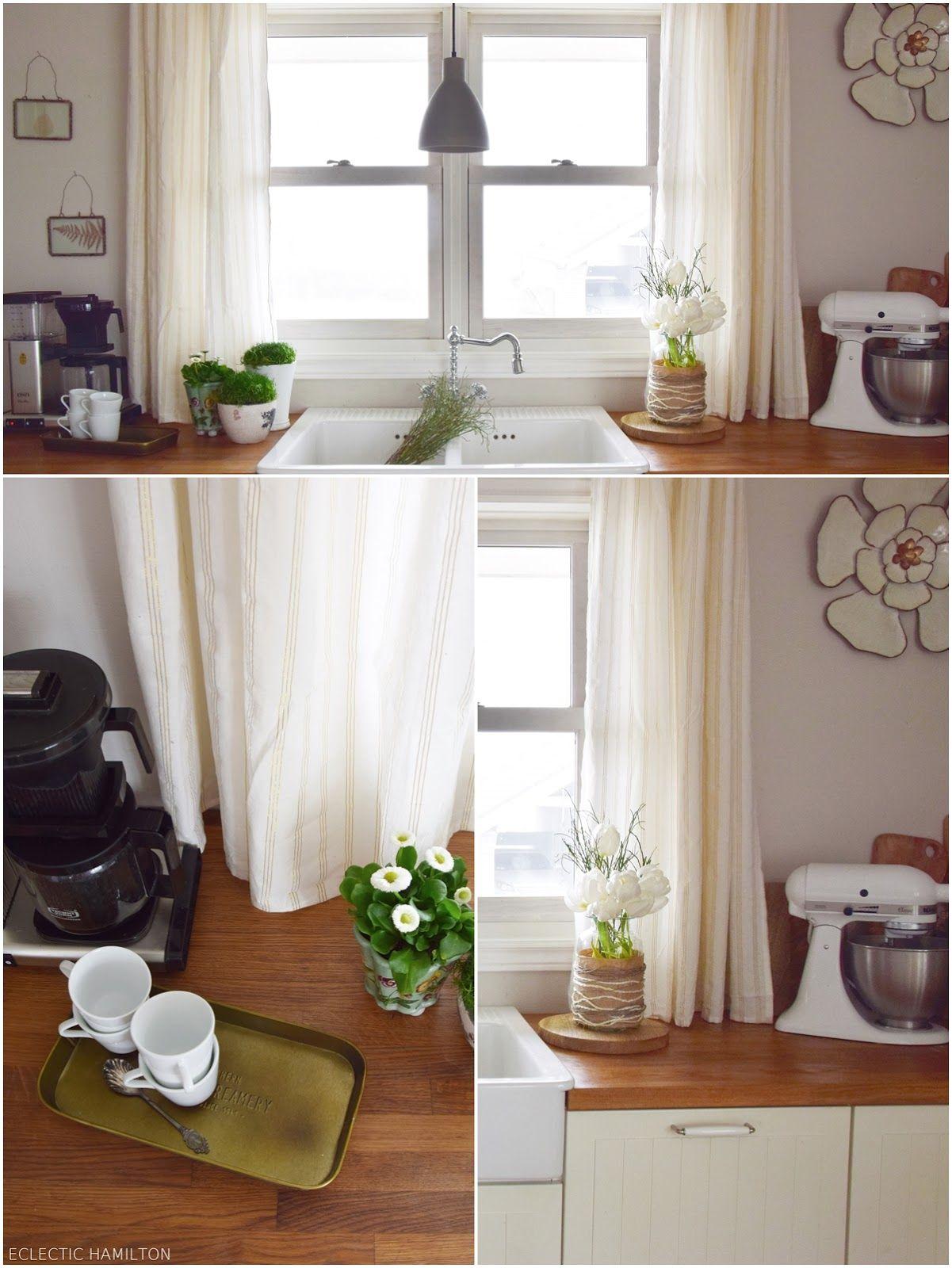 neuigkeiten aus meiner k che der fr hling ist da deko f r den fr hling. Black Bedroom Furniture Sets. Home Design Ideas