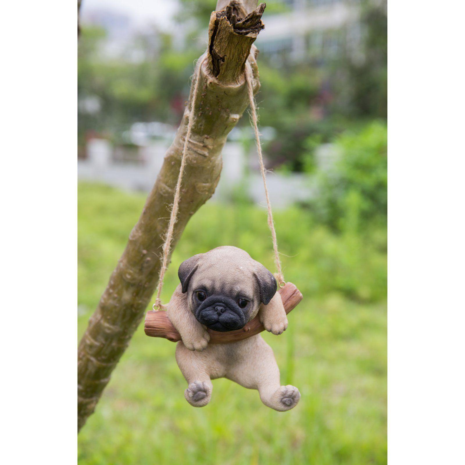 Hi Line Gift Ltd Hanging Pug Puppy Statue Pug Puppy Puppies Pugs