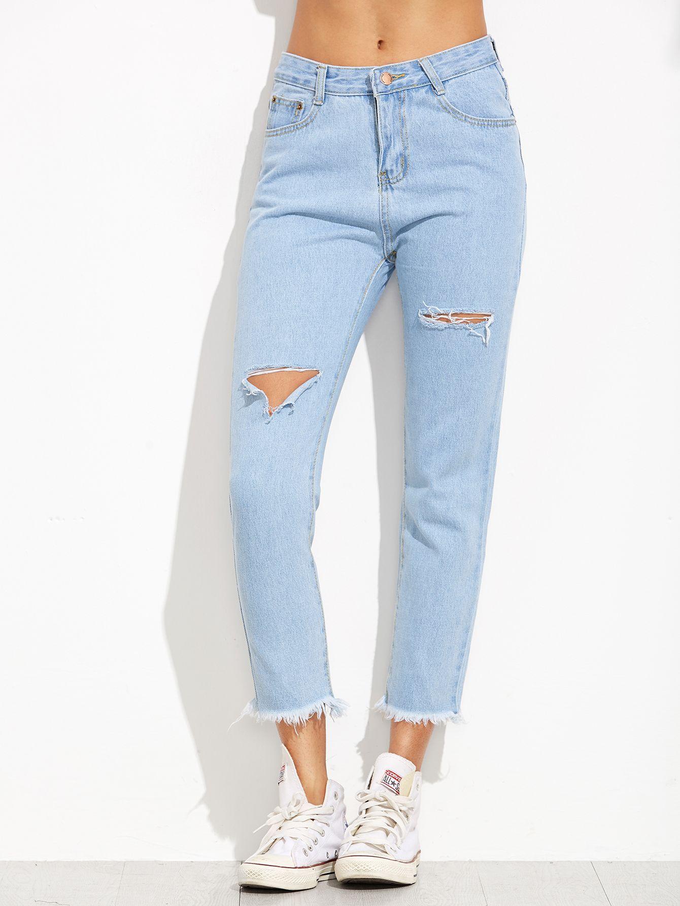 Vestidos de jeans con flecos