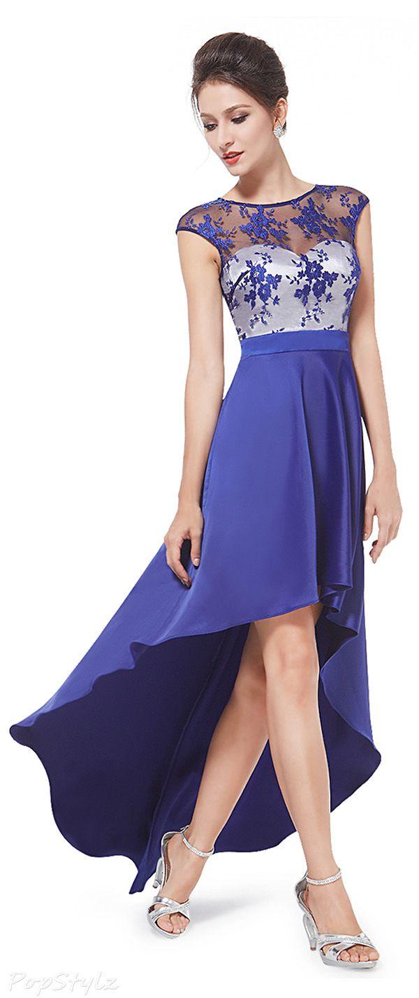 Sheer Lace Cocktail Dress | vestidos | Pinterest | Vestidos cortos y ...