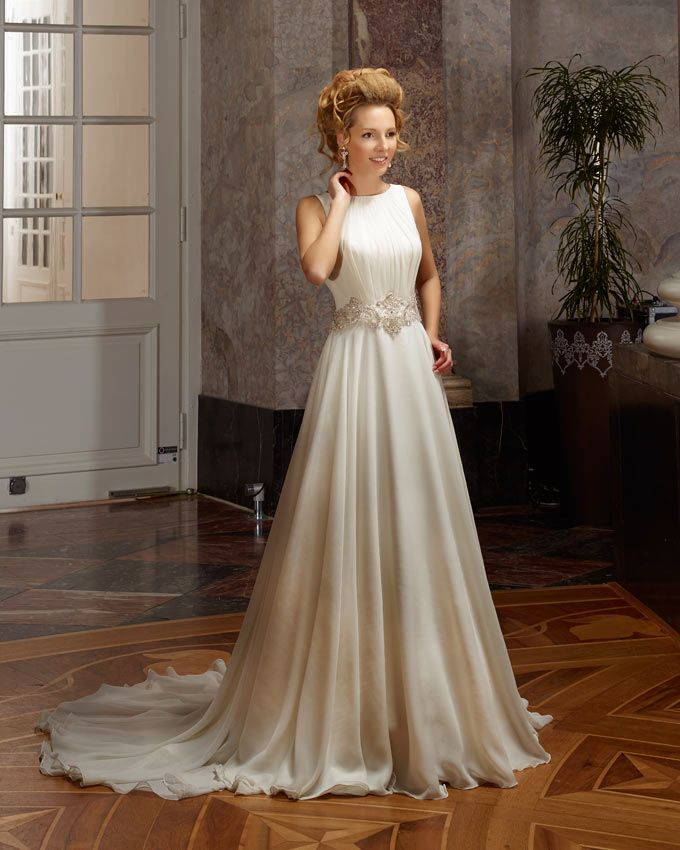 Dress: 4310 Available Colors: in Ivory or White Material: Chiffon ...