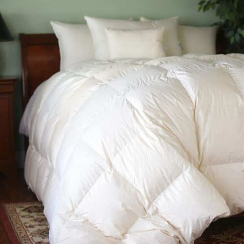 Natural Nights 800 Winter Weight Down Comforter Down Comforter Comforters White Bedroom