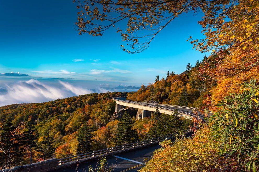 Blue ridge parkway best north carolina attraction