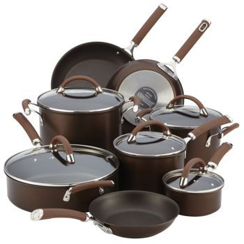 My Christmas wish... If 2 or 3 of y'all got together, its doable! :)     Costco: Circulon Premier Professional 13-piece Hard-anodized Cookware Set Chocolate
