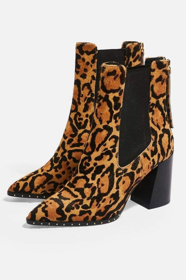 5f2c4b70c09c HARRISON Leopard High Heel Ankle Boots in 2019 | Wild Thang | High ...