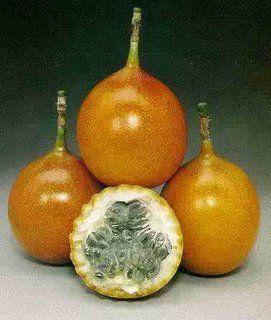 Granadilla Frutas Fruta Frutas Exóticas