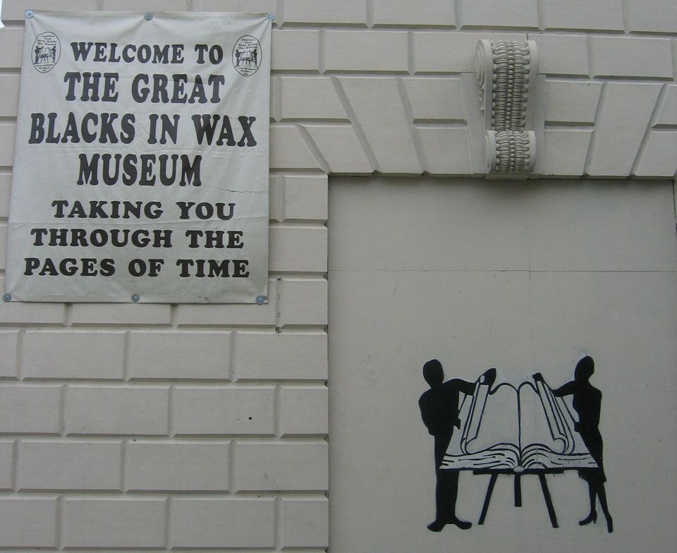 The great blacks in wax museum baltimore maryland wax