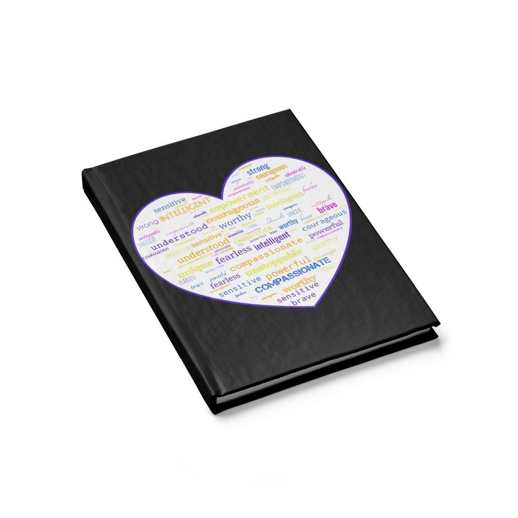 Positive Affirmation Heart Journal With Images