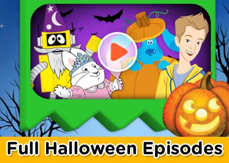 Watch full Halloween themed episodes of your favorite Nick Jr ...