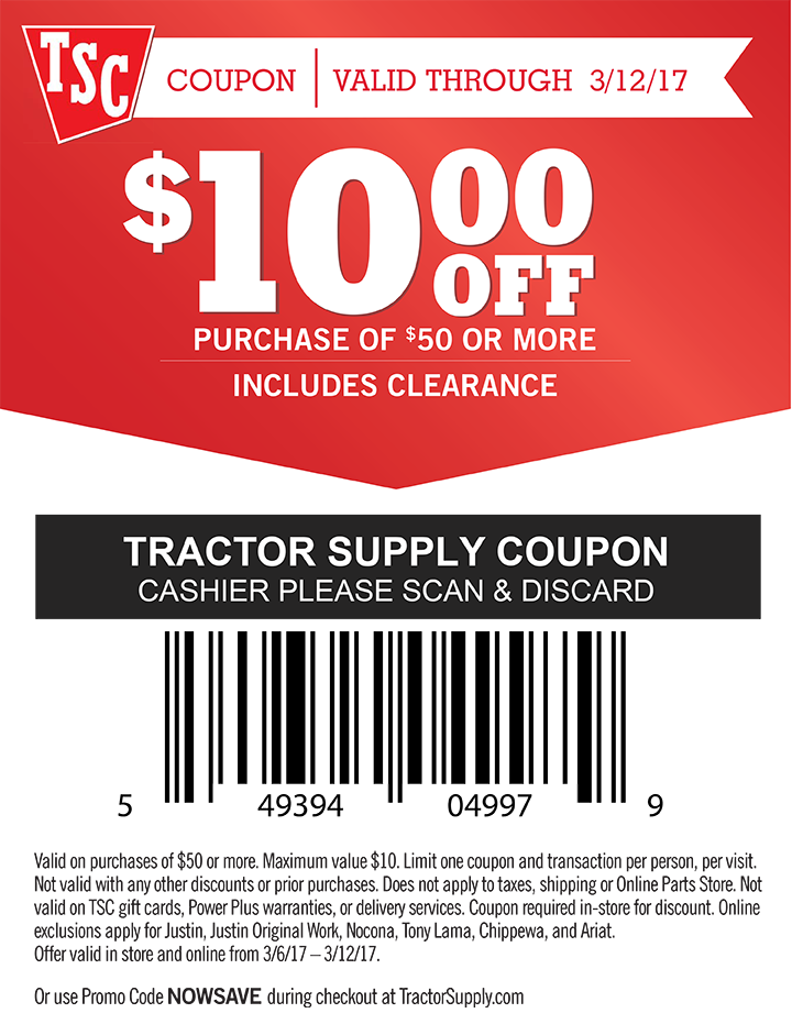 photograph about Tractor Supply Coupon Printable referred to as Help save With Electronic Coupon codes Tractor Shipping and delivery Co. Tractor