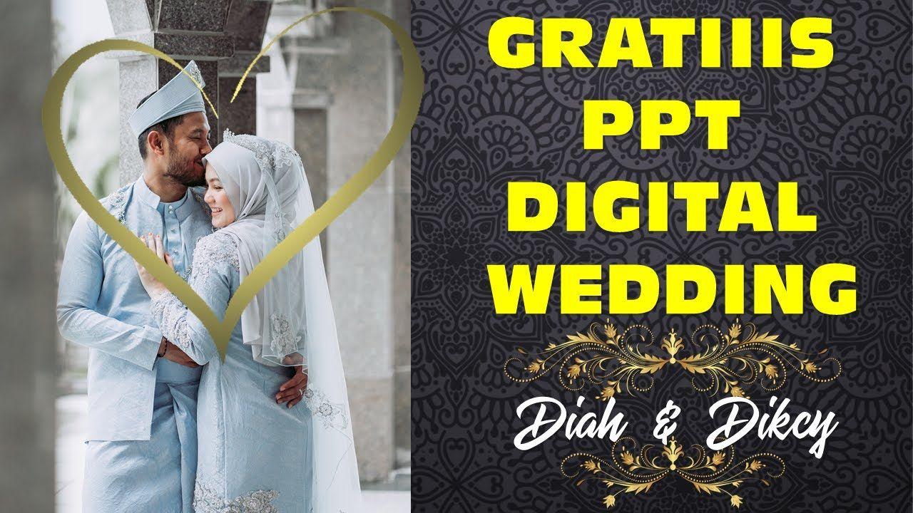 Gratis Ppt Template Undangan Digital Pernikahan Keren Diah Dan Dicky Pernikahan Undangan Instagram