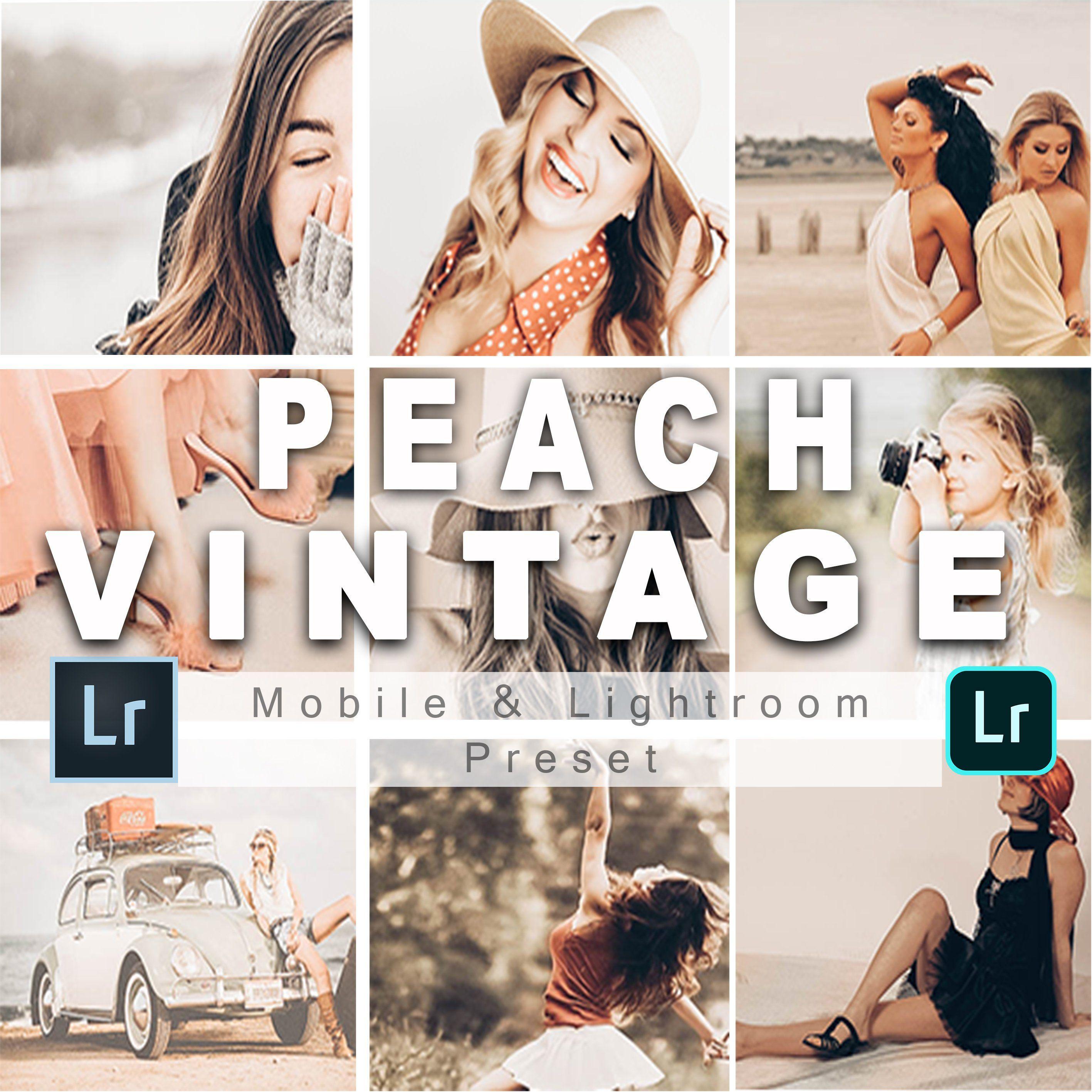 Lightroom Mobile Presets Peach Vintage Preset Presets Etsy Lightroom Presets Portrait Lightroom Presets Lightroom