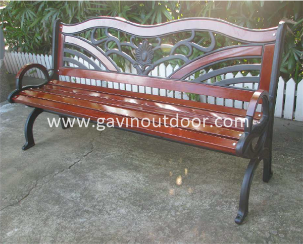 Cast Iron Wood Bench Antique Cast Iron Bench For Park View
