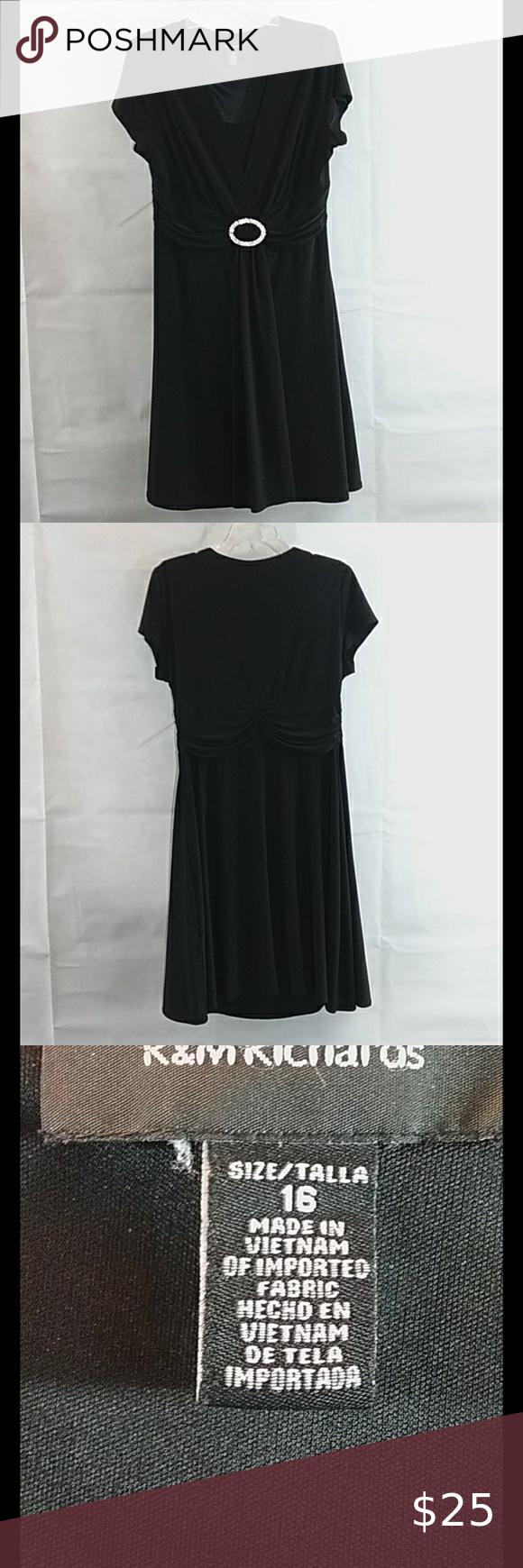 R M Richards Black Dress Size 16 Petite Cocktail Dresses Cocktail Dress Lace V Neck Cocktail Dress [ 1740 x 580 Pixel ]