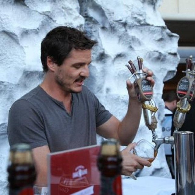 Pedro Pascal at SDCC