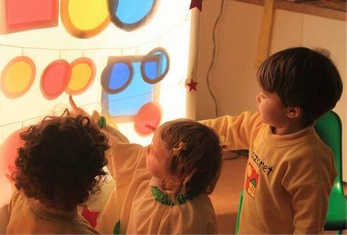 juego de luces y colores