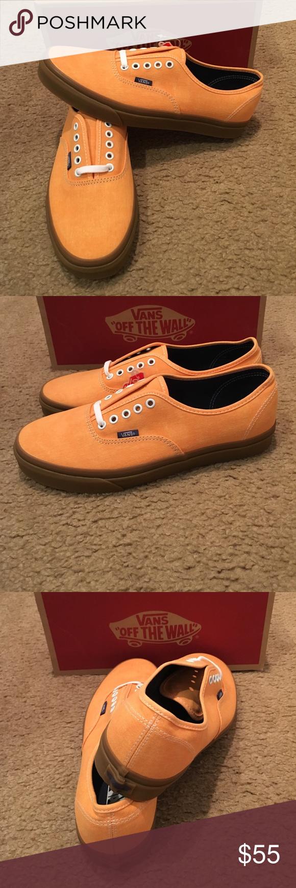 671d255523203f Washed Canvas Authentic Vans New in box. Citrus Gum Vans Shoes Sneakers