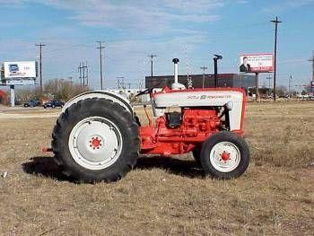 Ford 801 Powermaster Diesel Tractors Vintage Tractors Ford