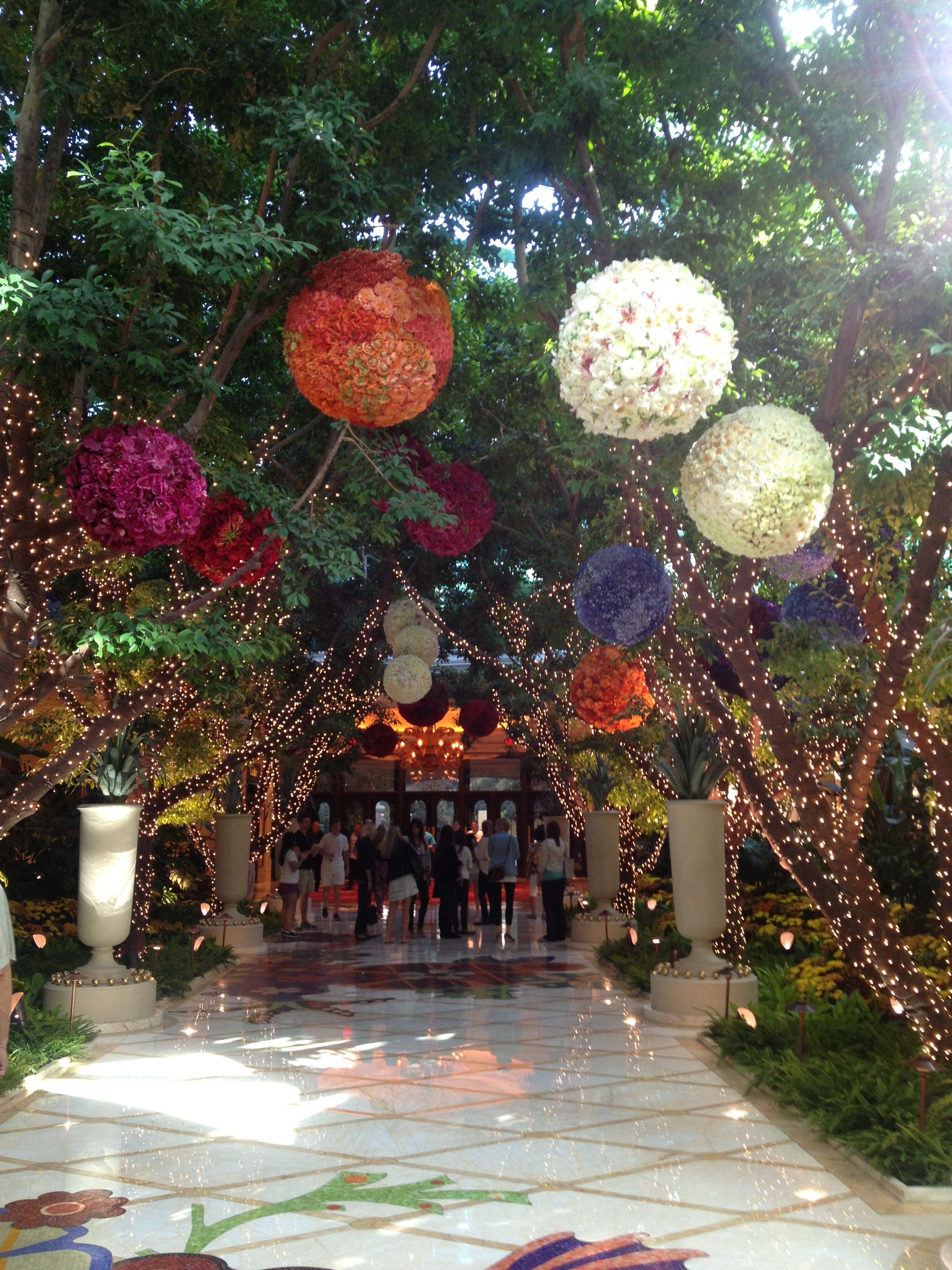 Hotel lobby of Wynn, Las Vegas