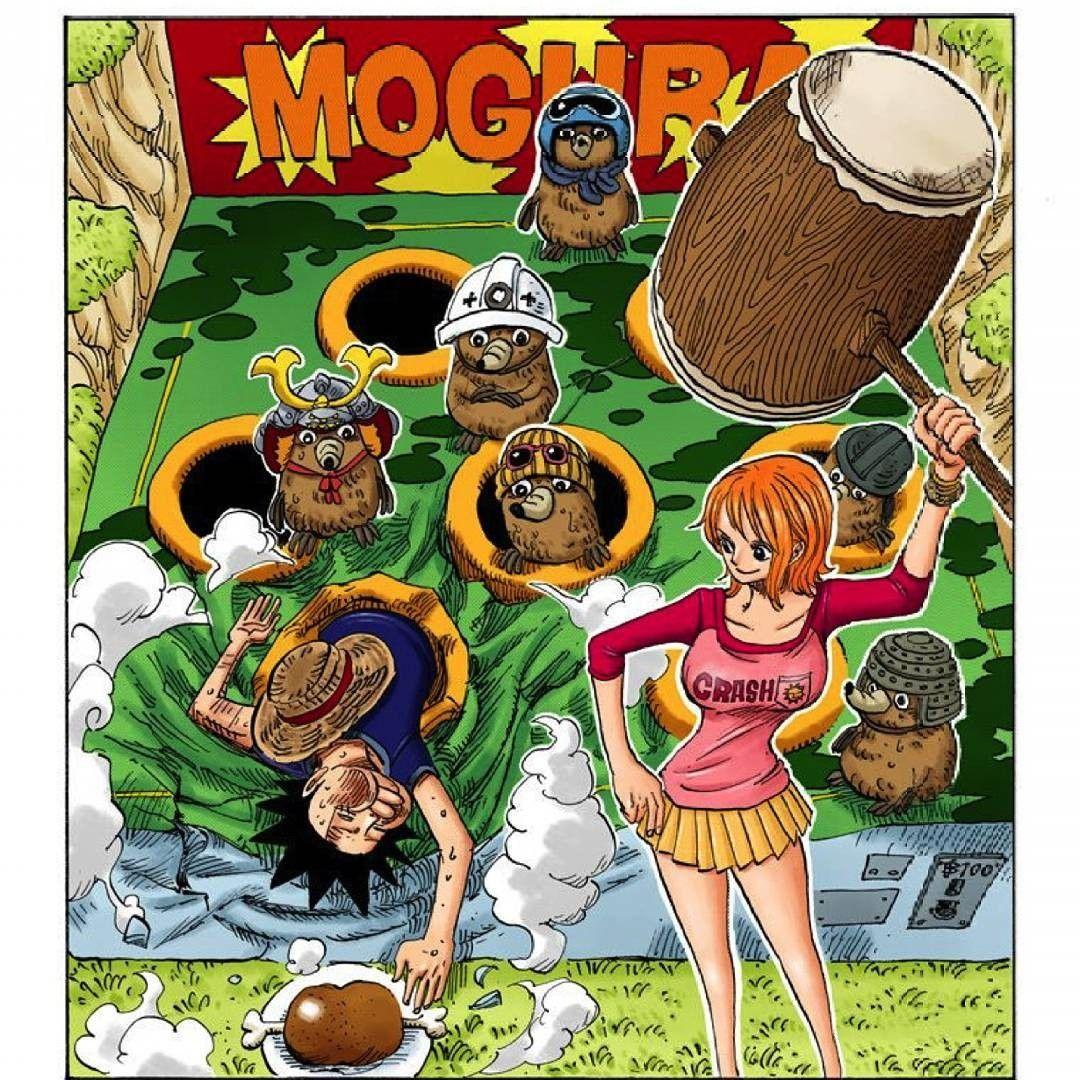 One Piece Nami & Luffy One piece manga, One piece main
