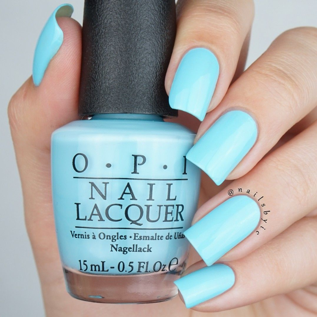Tiffany Blue Gel Nail Polish: Opi I Believe In Manicures Swatch Opi Breakfast At Tiffany