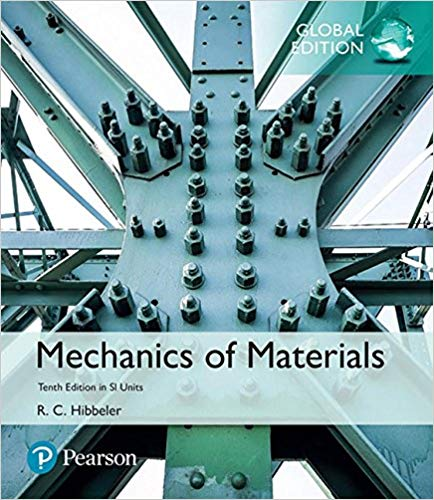 Name Solution Manual For Mechanics Of Materials In Si Units Global 10th Edition By Russell C Hibbeler Edition 10th Ed Mechanic Mechanical Engineering The Unit