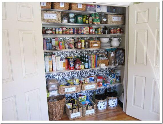 Home Organization Pinterest Pantry, Pantry closet and Pantry