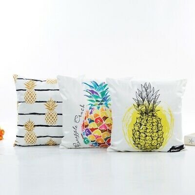 Pineapple Pattern Pillowcase Pillow Cover Simulation Silk Satin Hug Room Bedroom (ebay link) Pattern Pillowcase Pillow Cover Simulation Silk Satin Hug Room Bedroom (ebay link)