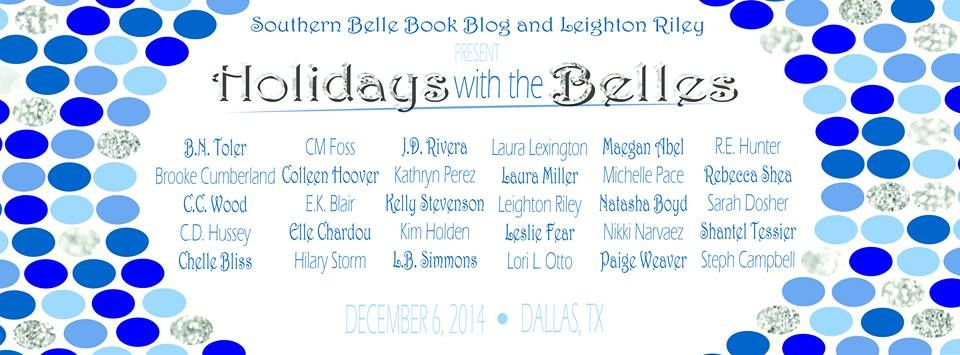 This coming Saturday (Dec. 6), I, along with thirty other wonderful authors (Colleen Hoover, Hilary Storm and so many more), will be in Dallas, Texas for Holidays with the Belles! I can't wait to meet you! Come say 'hi'! I'll also have book necklaces for only $10 or FREE with the purchase of two of my books! Also, pick up some cool, book swag! AND, the first two people to see me get a Butterfly Weeds vintage-cover tote bag!