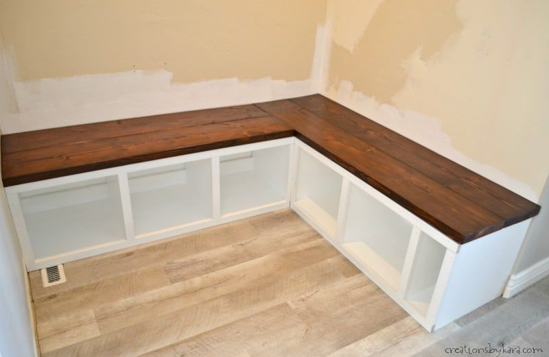 Corner Mudroom Storage Bench With Wood Seat Storage Bench Seating Corner Bench Seating Corner Bench With Storage