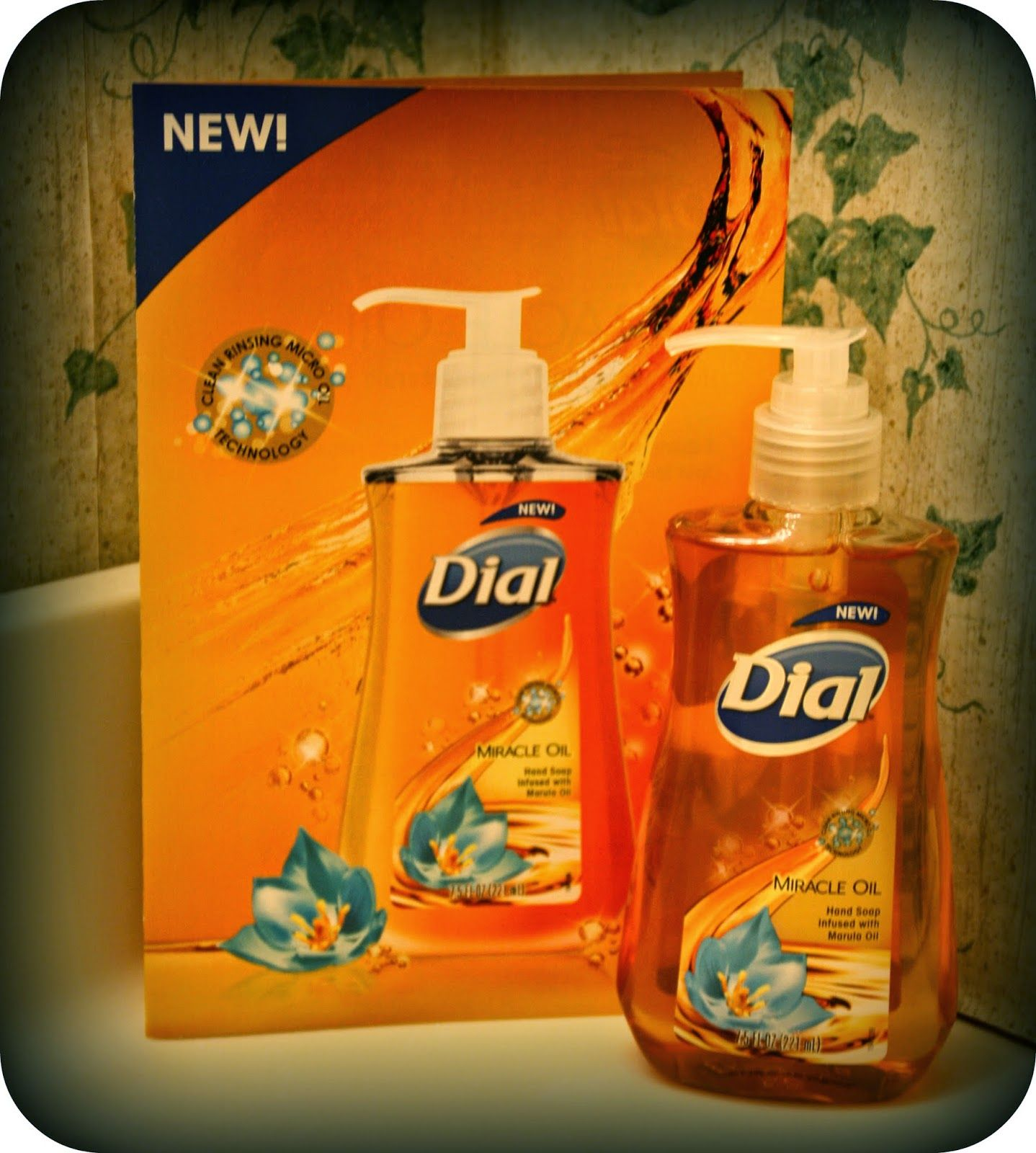 Dial miracle oil hand soap review giveaway hand soap