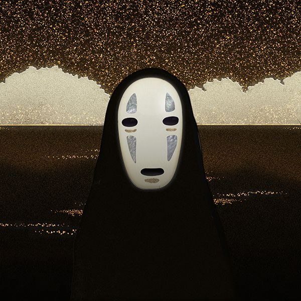 Miyazaki Mask Series Spirited Away No Face On Behance Spirited Away Spirited Away Ghost Miyazaki