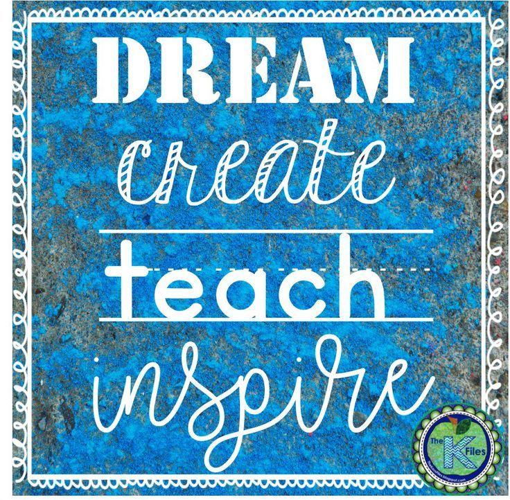 DREAM, create, TEACH, inspire. http//TheKausFiles