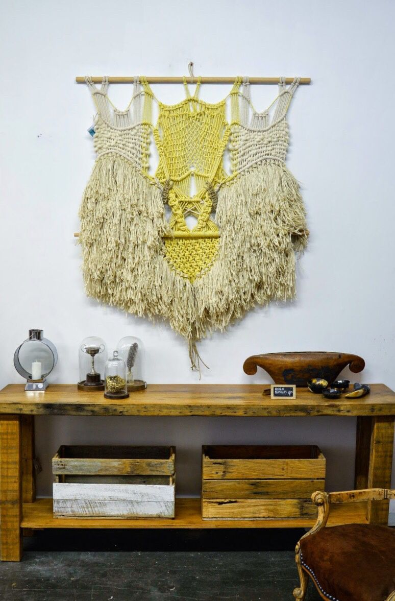 Une nouvelle addiction, le Macramé | wall hanging inspo | Pinterest ...
