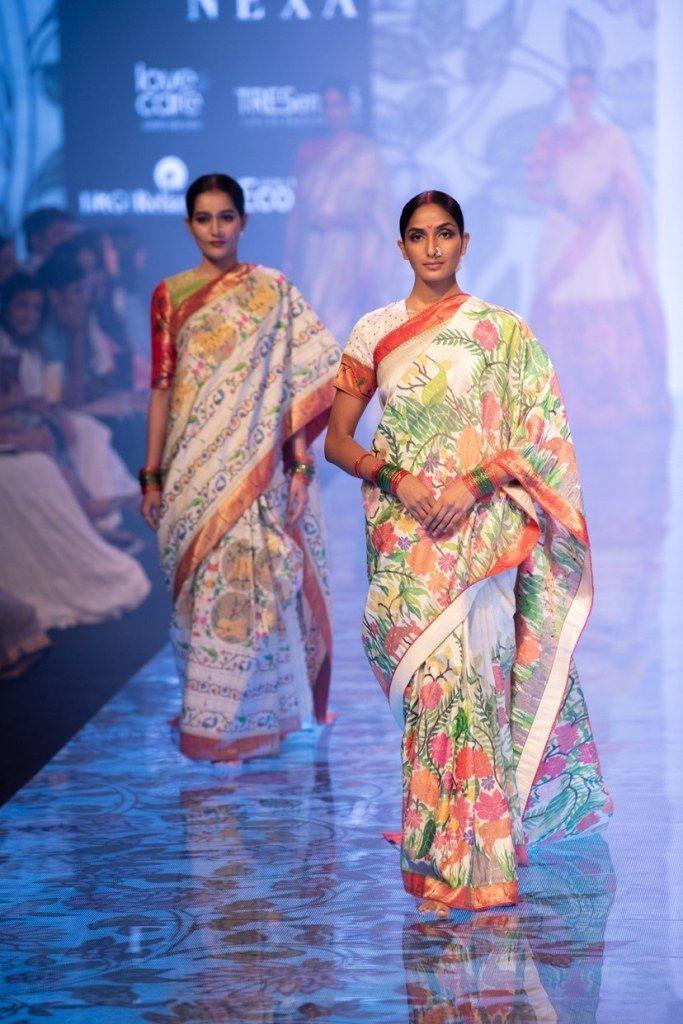 Photo of Multi colored wedding saree Paithani Gaurang Shah
