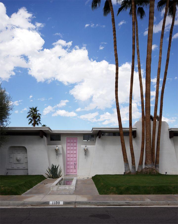 Palm Springs, CA. Photo via The Brick House.