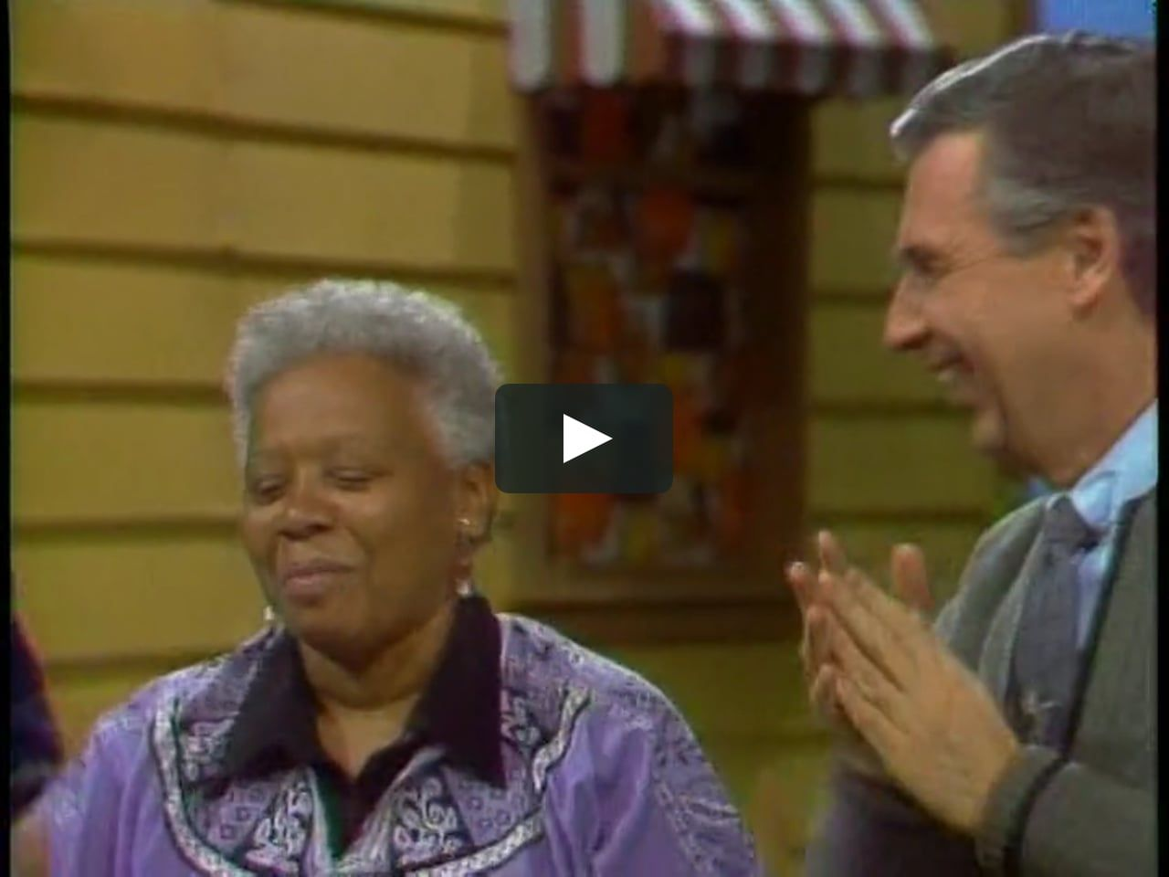 This Is Ella Jenkins Teaches Mister Rogers Head And Shoulders By Fred Rogers Productions On Vimeo The Home For High Qualit Mr Rogers Vimeo Video Streaming